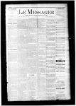 Le Messager, V6 N24, (09/03/1885)
