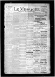Le Messager, V6 N26, (09/17/1885)