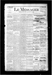 Le Messager, V6 N29, (10/08/1885)