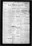 Le Messager, V6 N38, (12/10/1885)