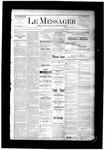 Le Messager, V6 N41, (12/31/1885)