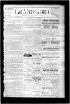 Le Messager, V7 N19, (07/29/1886)