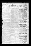 Le Messager, V7 N27, (09/23/1886)