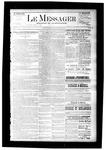 Le Messager, V7 N28, (09/30/1886)