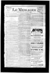 Le Messager, V7 N40, (12/23/1886)