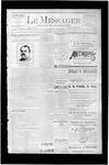 Le Messager, V7 N43, (01/13/1887)