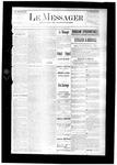 Le Messager, V7 N49, (02/25/1887)