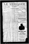 Le Messager, V10 N33, (11/07/1889)