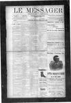 Le Messager, V10 N35, (11/21/1889)