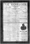 Le Messager, V10 N37, (12/05/1889)