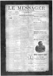 Le Messager, V10 N38, (12/12/1889)