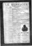 Le Messager, V10 N40, (12/26/1889)