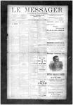 Le Messager, V10 N41, (01/02/1890)