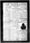 Le Messager, V10 N42, (01/08/1890)
