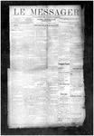 Le Messager, V10 N43, (01/16/1890)