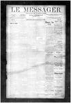 Le Messager, V10 N44, (01/23/1890)