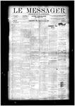 Le Messager, V11 N43, (01/15/1891)
