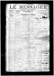 Le Messager, V11 N41, (01/01/1891)