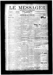 Le Messager, V11 N38, (12/11/1890)