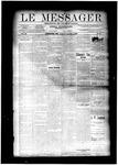 Le Messager, V11 N37, (12/04/1890)