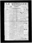 Le Messager, V11 N33, (11/06/1890)