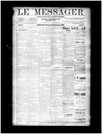 Le Messager, V11 N27, (09/25/1890)
