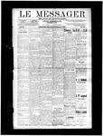 Le Messager, V11 N25, (09/11/1890)