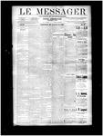 Le Messager, V11 N22, (08/21/1890)