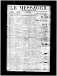 Le Messager, V11 N21, (08/14/1890)
