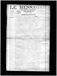 Le Messager, V11 N17, (07/17/1890)