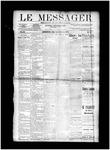 Le Messager, V11 N14, (06/26/1890)
