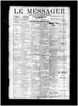 Le Messager, V11 N13, (06/19/1890)