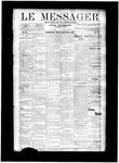 Le Messager, V11 N10, (05/29/1890)