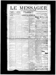 Le Messager, V11 N9, (05/22/1890)