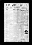 Le Messager, V11 N8, (05/15/1890)