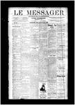Le Messager, V11 N5, (04/24/1890)
