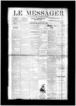 Le Messager, V11 N4, (04/17/1890)