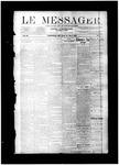 Le Messager, V11 N1, (03/27/1890)