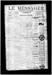 Le Messager, V12 N8, (05/14/1891)