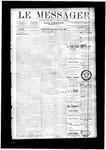 Le Messager, V12 N9, (05/21/1891)