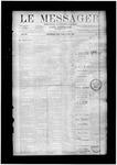 Le Messager, V12 N10, (05/28/1891)