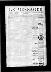 Le Messager, V12 N16, (07/09/1891)