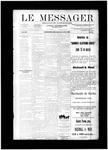 Le Messager, V12 N19, (07/30/1891)