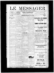 Le Messager, V12 N22, (08/18/1891)