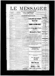 Le Messager, V12 N23, (08/21/1891)