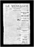 Le Messager, V12 N24, (08/25/1891)