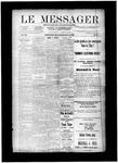 Le Messager, V12 N25, (08/28/1891)
