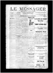 Le Messager, V12 N27, (09/04/1891)