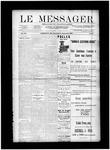 Le Messager, V12 N29, (09/11/1891)