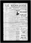 Le Messager, V12 N31, (09/18/1891)